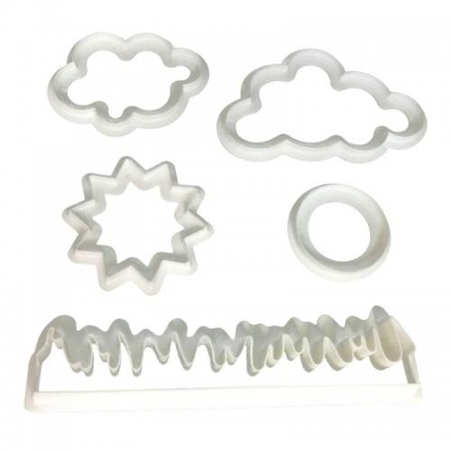 Cortador Grama/Nuvens/Sol - Confeitudo
