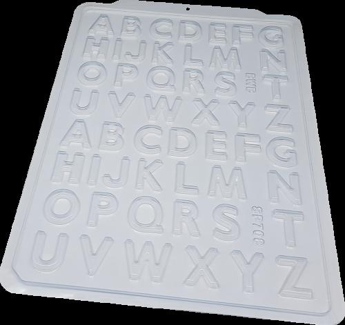Forma Simples de Acetato Alfabeto Pequeno - BWB