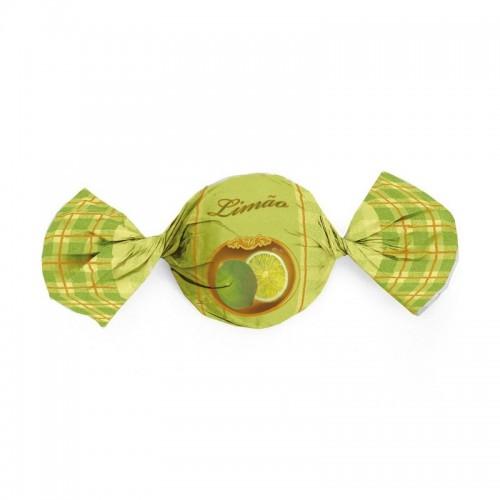 Embalagem para Trufas e Bombons 15X16cm Limão - CROMUS