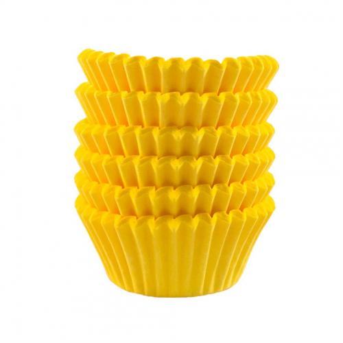 Forminha Pap. Imp Nº5 Amarela C/100Un - Flopel