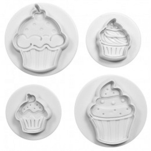 Ejetores de Cupcake C/4Pcs - Celebrate