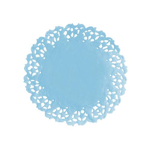Renda de Papel Azul Bebê Anti Gordura C/50un - Mago