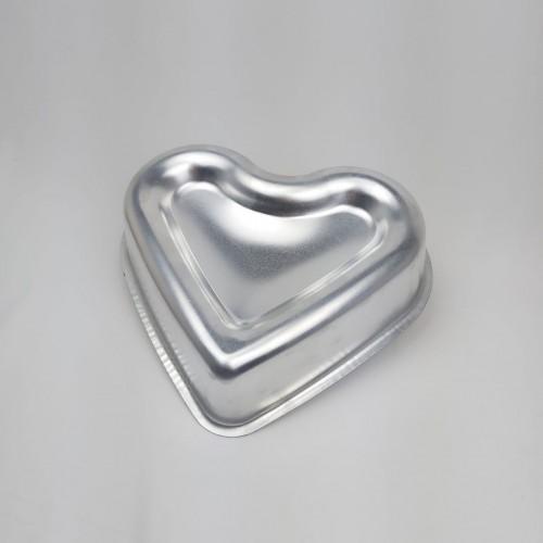 Forma Ballerine Coração P 18 X 20 X 4cm Alumínio - Caparroz