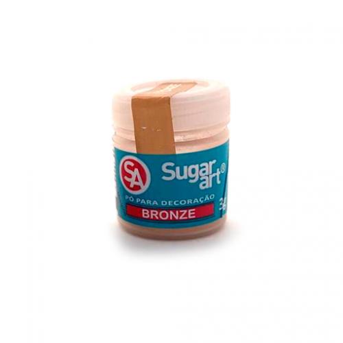 Pó para Decoração Bronze 3g - Sugarart