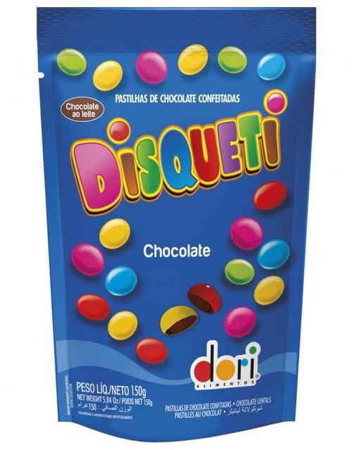 Disqueti Pouch Chocolate ao Leite 150g - Dori