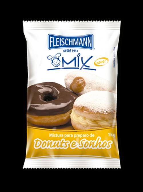 Mistura para Donuts e Sonhos 1kg - Fleischmann