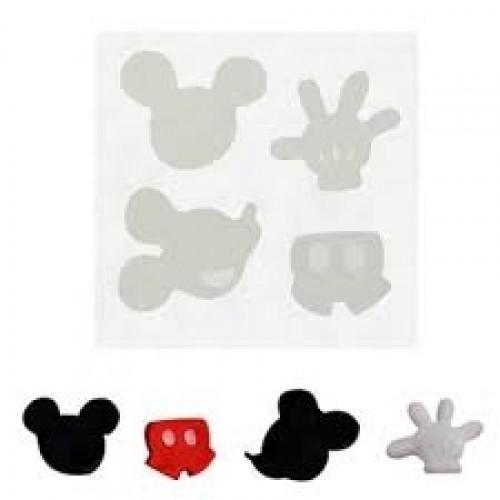 Molde em Silicone Kit Mickey - Gummies