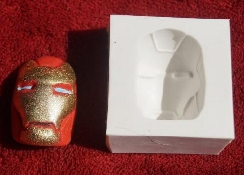 Molde em Silicone Homem de Ferro - Gummies