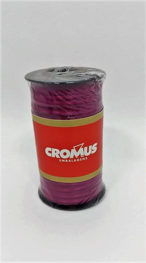 Fita de Cetim Nº0 Fucsia 3,5cm x 100m - Cromus