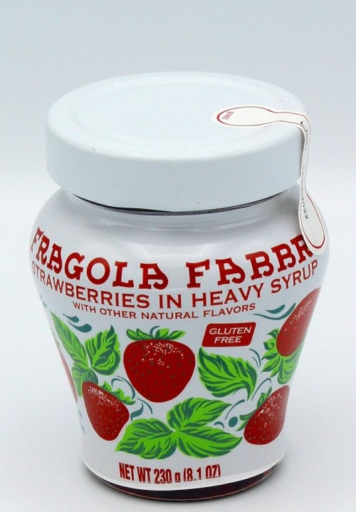 Frangola Opaline (Morango Inteiro em Calda) 230g - Fabbri