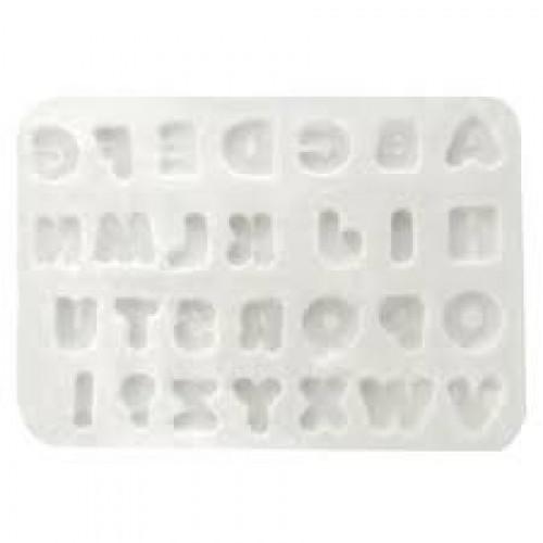 Molde em Silicone Letras Pequenas - Gummies