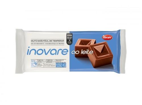 Chocolate Inovare Intenso Semi Amargo 1,050kg - Harald