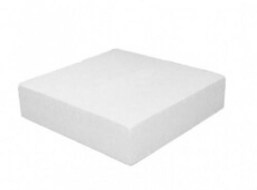 Base Bolo Falso Quadrado Isopor Dim. 150x150 Esp. 80mm Un- Styroform