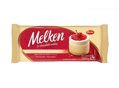 Barra Melken Chocolate Branco 1,050kg - Harald