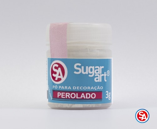 Pó para Decoração Perolado 3g - Sugarart