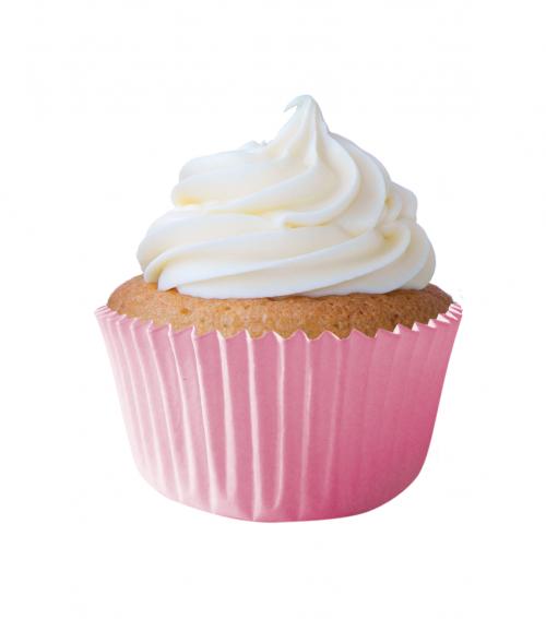 Forma Especial para Cupcakes N0 Rosa Bebê - Mago