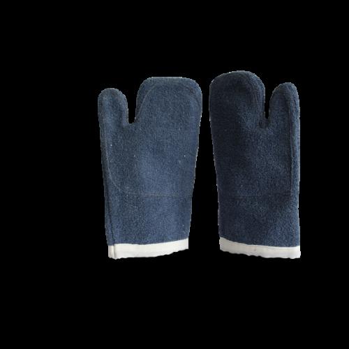 Luva Mão Gato Azul 35cm - Caparroz