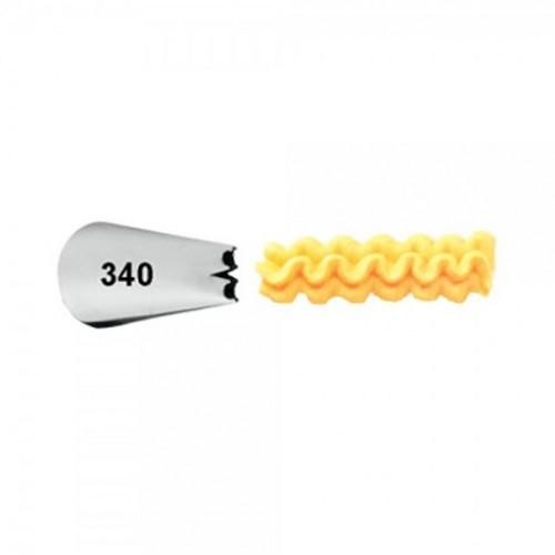 Bico de Confeitar Babado Especial Mod 340 - Wilton